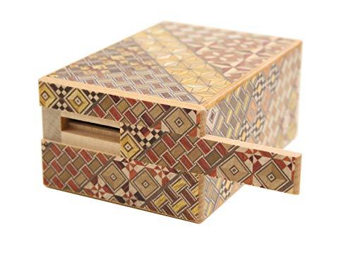 箱根寄木細工秘密箱9回仕掛け貯金箱