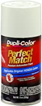 Dupli-Color EBHA09787 Taffeta White Honda Perfect Match Automotive Paint - 8 oz. Aerosol