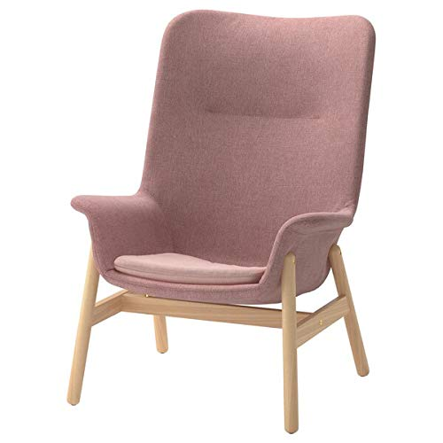 VEDBO Hochlehner Sessel Gunnared hellbraun-pink 80x85x108 strapazierfähig und pflegeleicht Stoffsessel Sessel & Chaiselongues Sofas & Sessel Möbel umweltfreundlich