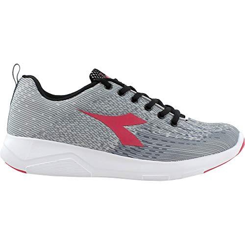 Diadora Womens X-Run 2 Light Running Sneakers Shoes - Grey - Size 6.5 B