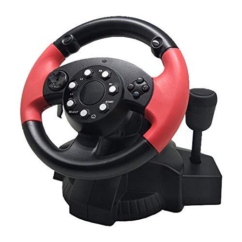 WSJ Volante de juego de carreras, coche para simulador de PC PS3/PS4...