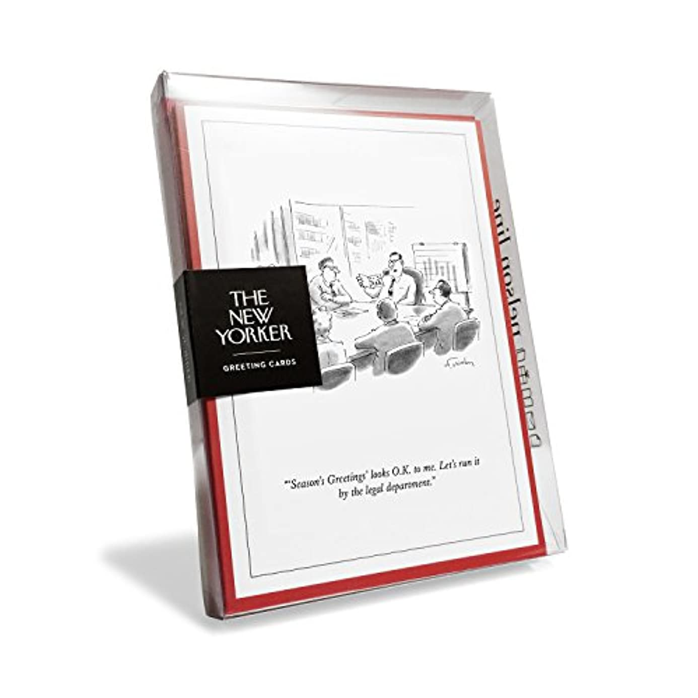 The New Yorker Cartoon Run It by Legal Holiday Cards (Box of 8) lcp0382632