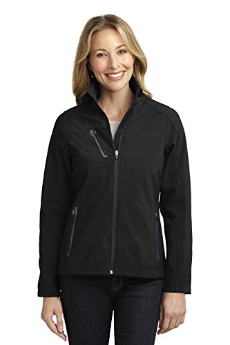 Port Authority® Ladies Welded Soft Shell Jacket. L324 Black S
