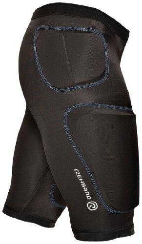 Rehband Herren Funktionswäsche Compression Pro Shorts, schwarz, XXXL