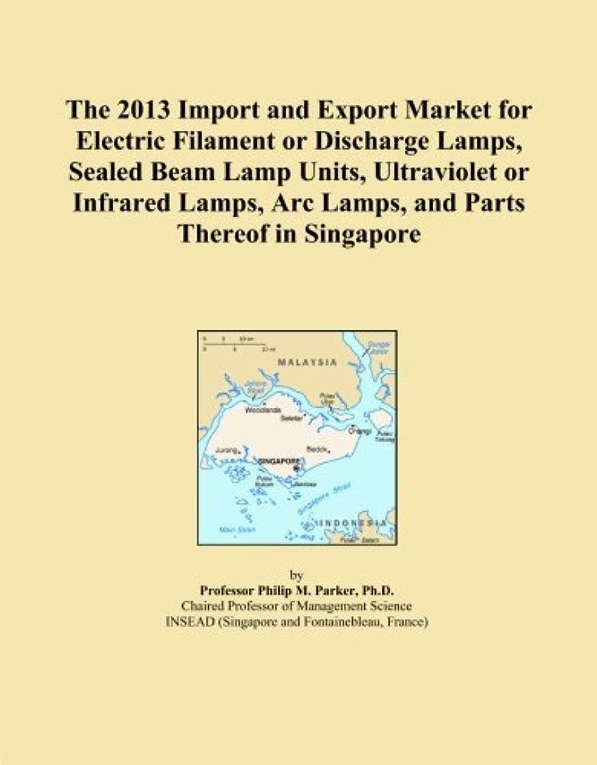 不合格規模説教The 2013 Import and Export Market for Electric Filament or Discharge Lamps, Sealed Beam Lamp Units, Ultraviolet or Infrared Lamps, Arc Lamps, and Parts Thereof in Singapore