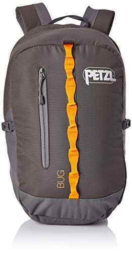 PETZL Bug Adult's Backpack, unisex_adult, S71 G, gray, 32 × 21 × 1 cm, 18 Liter
