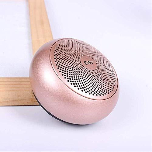 Mirage Mini Bluetooth Speakers Draagbare Tws Mp3 Speler Draadloze Luidspreker Voor Computer/Telefoon Muziek Luidspreker Goud, Goud