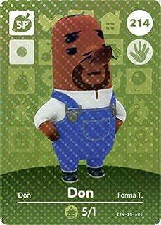 Don Resetti - Nintendo Animal Crossing Happy Home Designer Amiibo Card - 214