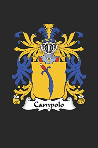 Campolo: Campolo Coat of Arms and Family Crest Notebook Journal (6 x 9 - 100 pages)