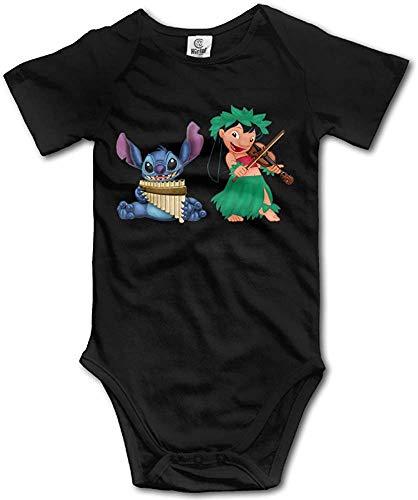 Dezzert030 Body de bebé Lilo Stitch Onesies