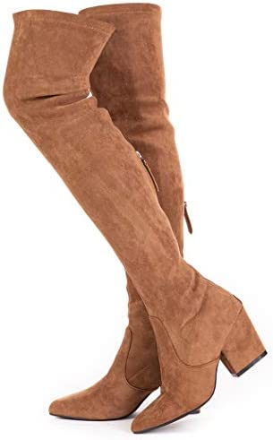N N G Women Boots Winter Over Knee Long Boots Fashion Boots Heels Autumn Quality Suede Comfort product image