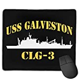 USS Galveston CLG-3 Computer Mouse Pad Gaming Mouse Pad Office Products