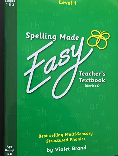 Spelling Made Easy Revised Text Book Level 1 by Violet Brand (English Edition)