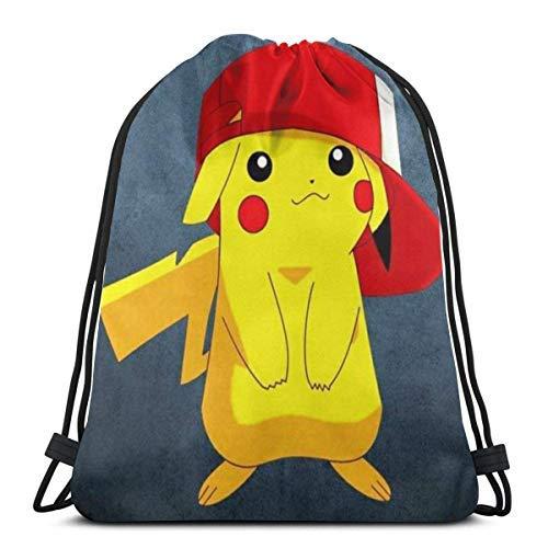 XCNGG Classic Drawstring Bag-Pilachuu Gym Backpack Shoulder Bags Sport Storage Bag for Man Women