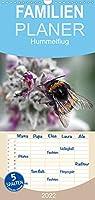 Hummelflug - Familienplaner hoch (Wandkalender 2022 , 21 cm x 45 cm, hoch): Hummeln sind faszinierend. Ueberzeugen Sie sich selbst von ihrer Schoenheit. (Monatskalender, 14 Seiten )