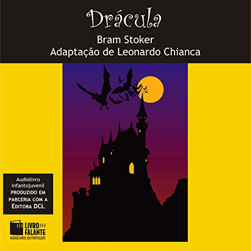 Drácula [Portuguese Edition] audiobook cover art