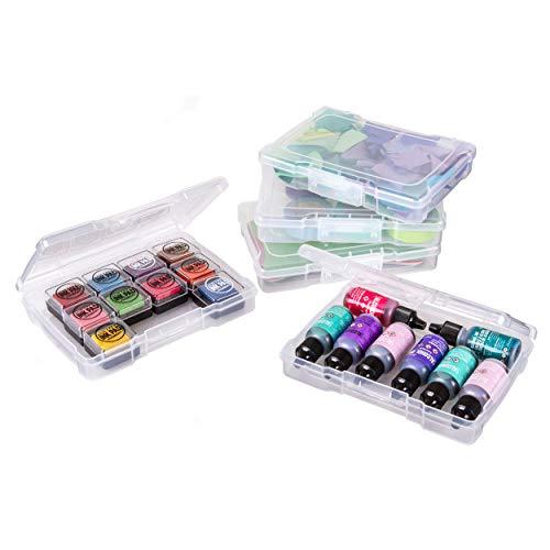ArtBin 6946ZZ Foto- und Bastelzubehör-Boxen, 12 Stück, transparent 12er-Pack 12-Pack farblos