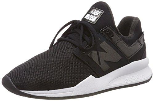 New Balance Damen 247v2 Sneaker, Schwarz (Black/Black Metallic Uc), 38 EU