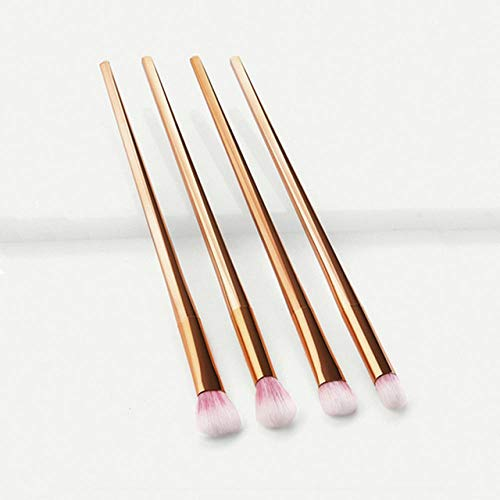 Fanxp 4Pcs Diamond Handle Eyeshadow Brush, Makeup Tools Eye Beauty Eyeshadow Makeup Brush, Women's Beauty Tools