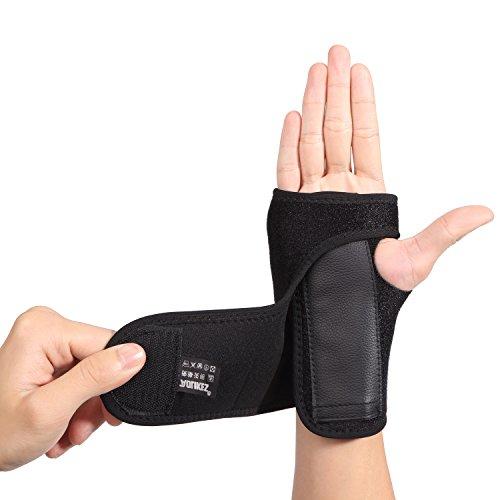 AOLIKES Handgelenk Schienen Bandage Unterstützung Stütze für Karpaltunnelsyndrom Verstauchungen Zerrungen Rechts Hand