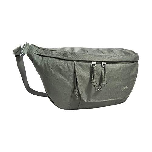 Tasmanian Tiger TT Modular Hip Bag II Taktische universelle Hüft-Tasche mit 5 Litern Volumen, DREI RV-Fächern und Molle-Klett Panel, Gürtel-Tasche für Einsatz, Sport, Trekking Steingrau-Oliv IRR