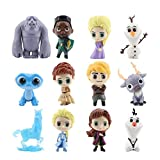 Package Coming include 12 set cute Forzen cake topper figures,Anna,Hans,Elsa,sven,Olaf The Frozen cake toppers Cute Premium Frozen Party Figurines will be perfect decorations for the Frozen party supplies birthday These fun figures Size are from 2.56...