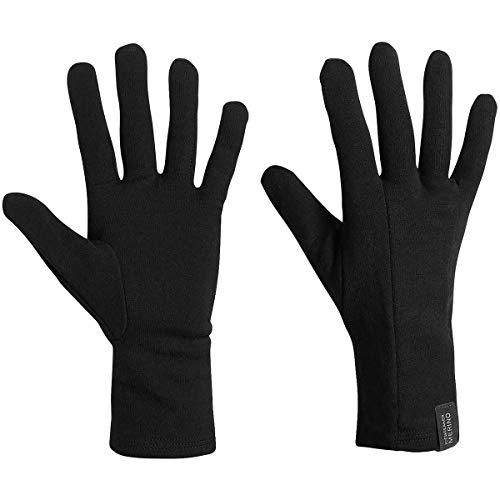 Icebreaker Herren Handschuhe Apex Glove Liners, Black, M