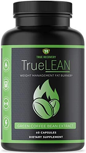 TrueLEAN Green Coffee Bean Extract Weight Management Detox Lean Body Energy Metabolism Booster product image