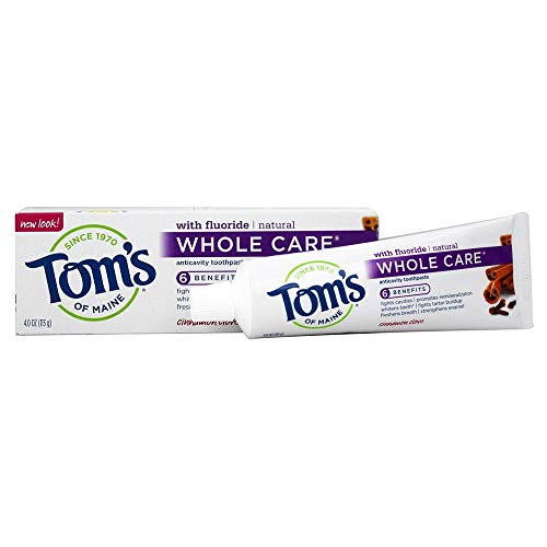 Toms Of Maine, Toothpaste Cinnamon Clove Whole Care, 4 Ounce