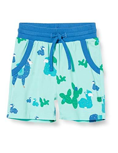 Fred'S World By Green Cotton Lama Shorts, Multicolore (Aqua 014481201), 92 Bébé garçon