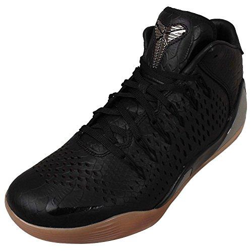 Nike Kobe IX Mid EXT QS (Black Mamba-Snakeskin) Black/Black (11)