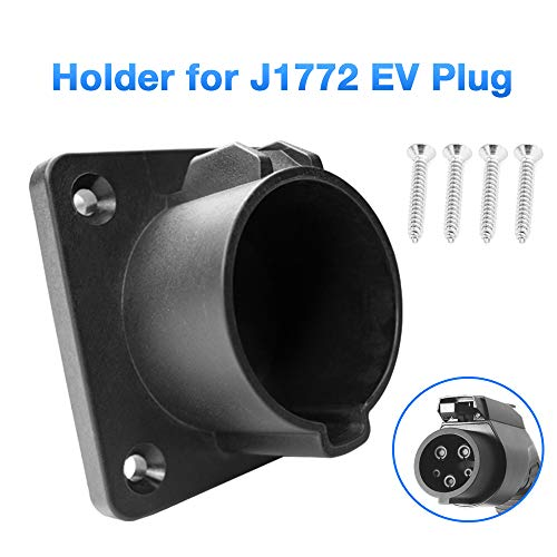 Morec EV Charger Holder Holster Dock for Type 1 EVSE J1772 Connector Electric Vehicle Charger Plug Holder Storage