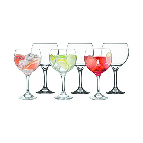 Ravenhead Entertain Vasos de Globo Gin – Set 6 65 cl, 16 x 12 x 20 cm