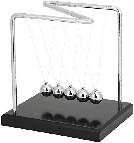 RENFEIYUAN Wiege, Z Typ 5 Pendelbälle Stahl Balance Bälle Wissenschaft Körperliche Stress Relief Spielzeug für Home Schreibtisch Dekorative Verzierung Geschenk Kugeln pendel