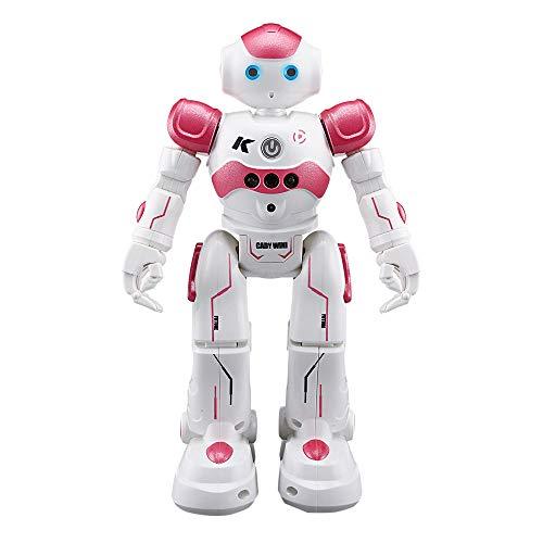 zycShang Robot TéLéCommandé Rc Jouet Cadeau, Télécommande RC Robot Smart Action Infrarouge Permet Gesture Contrôle Enfants Jouet