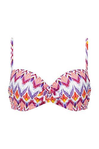 Chantelle Women's Crepuscule Balconette Swim Top 6975 34F Pink Sunrise