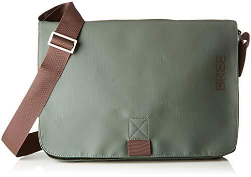 BREE Collection Unisex-Erwachsene Pnch 62, Shoulder Bag W18 Schultertasche, Grün (Climbing Ivy), 24x8x34 cm
