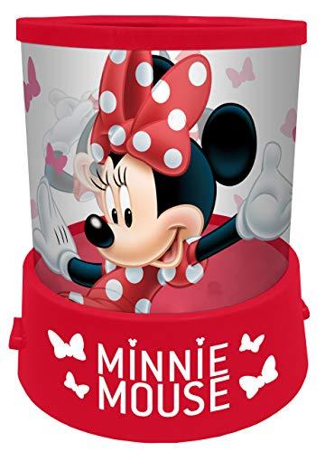 Lampe Minnie Veilleuse Projecteur Taille 12 cm