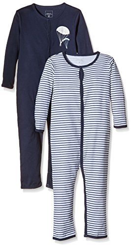 NAME IT Baby-Jungen NITNIGHTSUIT M B NOOS Schlafstrampler, Mehrfarbig (Dress Blues), 92 (2er Pack)