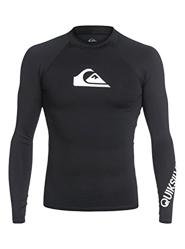 Quiksilver All Time-UPF 50, Lycra Uomo, Black, S