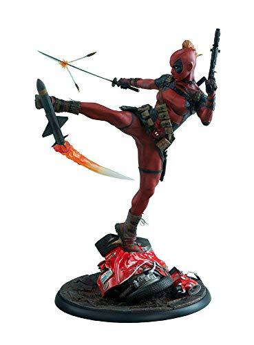 Sideshow Collectibles SS300546 Lady Deadpool Premium Format Figure, Multi-Colour