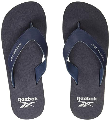 Reebok Men's SUPER SOFT FLIP Swim/Training Flip Flops, Blue,...