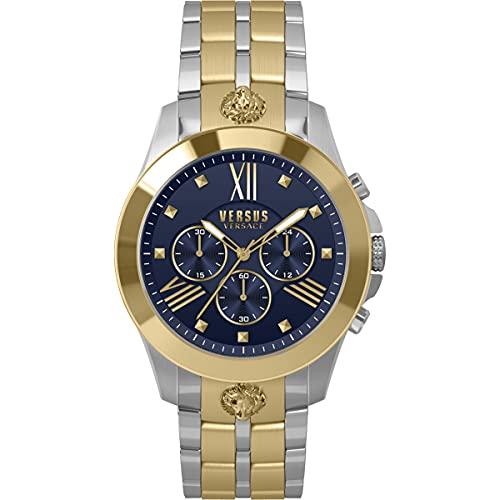 Versus Reloj de pulsera para hombre de Versace Chrono Lion VSPBH5920, acero inoxidable
