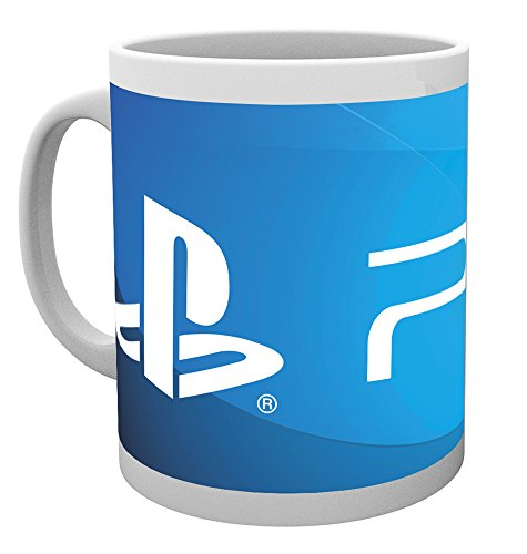 GB Eye LTD, Playstation, PS4 Logo, Taza