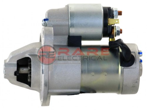 Rareelectrical NEW 12V STARTER MOTOR COMPATIBLE WITH KOBELCO EXCAVATOR 35SR-3 IV YANMAR 3TNV88 VV12968277012