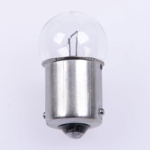 Ampoule MotoLibre 6V 5W BA15s, Ronde - boîte de 10