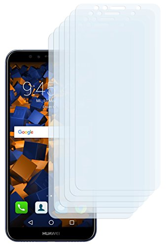mumbi Schutzfolie kompatibel mit Huawei Y6 2018 Folie klar, Bildschirmschutzfolie (6X)
