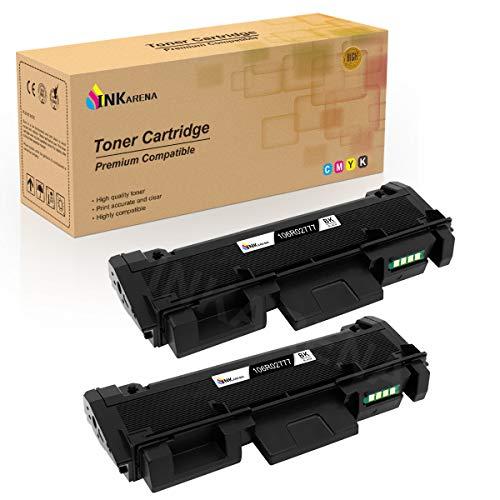 106R02777 Toner Cartridge Replacement for Xerox 106R02777 Black Toner Cartridge Suit for Phaser 3260 3260DNI 3260DI WorkCentre 3215 NI 3225 DNI by Inkarena - 2PK x Black
