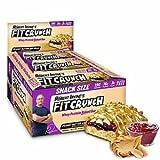 Fit Crunch Snack Size Protein Bar 9 Riegel Erdnussbutter und Gelee