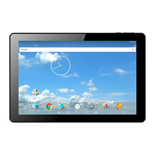 """IVIEW-1070TPC-II, 10.1"""" Android 6.0 Tablet, 1280 x 800 IPS Display, Cortex A53 Quad Core CPU 1.2GHz, 1GB/16GB, Dual Camera, WiFi 802.11 b/g/n, Bluetooth 4.0, Android 6.0"""